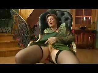 Granny get fucked - Granny get fucked in her chair