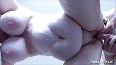 Mature with big tits fucked from behind