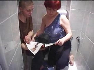 Son watching mom having sex videos - Mom and sons friend having sex in toilet