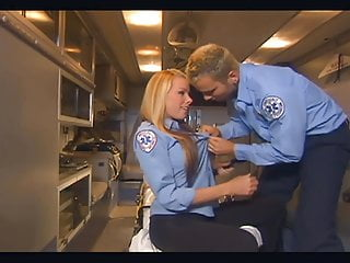 Fucking in louisiana video Uniformed babe fucking in the back of an ambulance