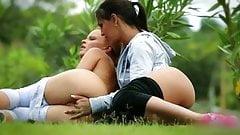 Monica Sweet And Eve Angel - Fitness -FDP-