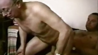 Younger men fucking with a older men