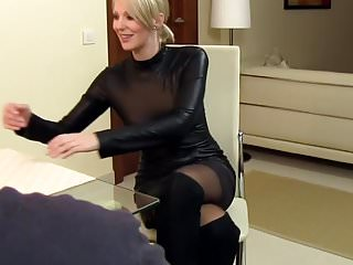 Strip or of or leather Sexy wife cara fucked in leather and cum on clothes