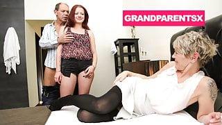 Grandparents Invited me to Cum in
