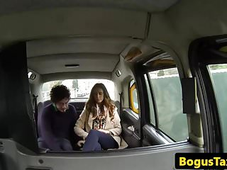Moves with pussy - Amateur brits pussy fuck in back of moving cab