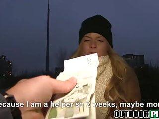Chrissie hynes gay Money talks to blonde babe chrissy fox as she fucks outdoors