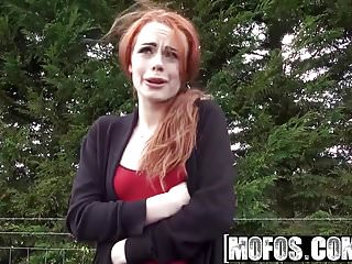 Amber british sucks cock - Mofos - stranded teens - british redhead sucks cock starring