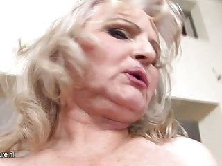 Sex scene stills - Old but still hot granny and her little vagina