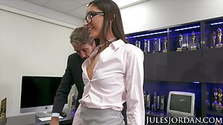 The Insatiable Emily Willis: Her First DP