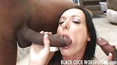You can watch me riding two really big black cocks