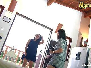 Hot girl has sex on beach - Mamacitaz - hot latina lesbians has sex revenge and squirts