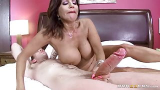 Overnight With Raunchy Stepmom Part One