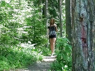 Voyeur teen pissing - Hot teen pissing in the woods