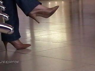 Sexy women in 6 high heels - Random women in heels no. 038
