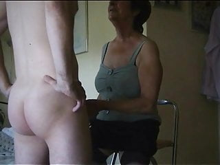 Mature grannies boys Dirty old northern mother punishing the boy
