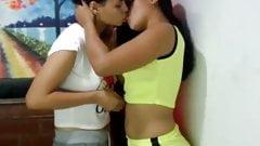 lesbian kissing