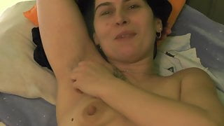 Mandy FARTING & shows EXTREME WET pussyafter squirtingorgasm