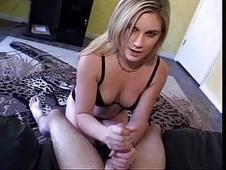 Busty cigarette smoking woman Cigarette smoking blonde gets cum on her hands