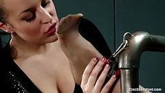 Jana Cova tickling 2