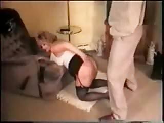 Slut whore wife loves black cock Mature white wife loves black cock in her ass