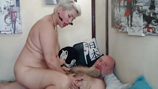 Are you bored of fucking your wife? So fuck her for show! ))