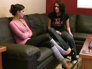 Mature stinky feet - Blackmailing stepsister to smell stinky feet