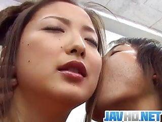 Katsumi cum Katsumi matsumura enjoys sex at school with horny teacher