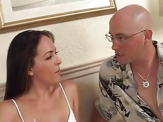 Her 1st milf Adrianna chase - her 1st anal