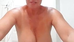Hot Aunty! Huge boobs and fat ass