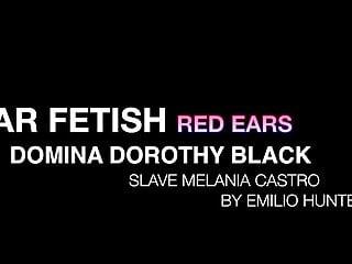 Melania trump naked Ear fetish - red ears - domina dorothy black slave melania