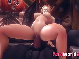 Actual 3d porn - Heroes from warcraft gets fucked in every hole - 3d porn com
