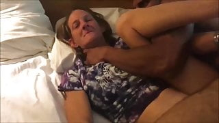 Elder wife having sex with a BBC