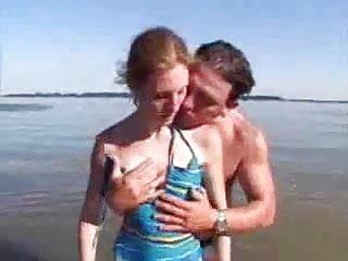 Nude small tit redhead - Nude beach - classic - small tit redhead cim facial