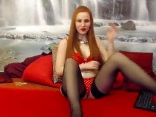Movie sexy sucking toe - Sexy redhead sucks her nylon toes