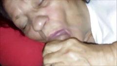 sex job of GRANNY -SEX ROSSELLA SALERNO 84 anni and rob 51.