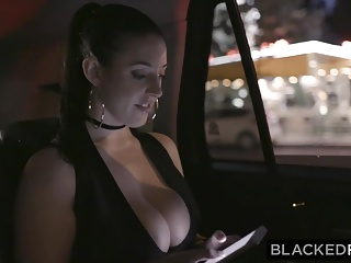 Black into white tgp Blackedraw black stud takes angela white in her hotel room