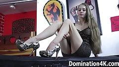 Mistress Kendra Lynn locks you into chastity
