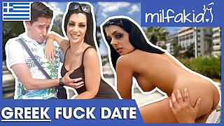 Rosa: Greek slut is an insatiable cock lover! Milfakia.com
