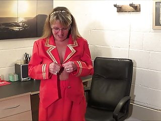 French air hostess strips for pilots Full back knickers air hostess pt1