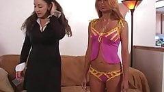 Lesbian sex doll