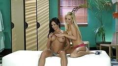 Big Titted Lesbians Lick Right