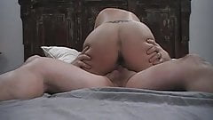 Hotwife riding with multiple orgasms