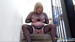 EuropeMaturE Busty British Mature Masturbation x