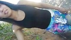 Hot sex outside the village (Brazil)