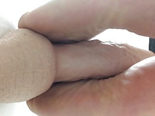 100 free nude video gallerys - Footjob on dildo goes with gallery