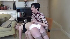 Posh Wife Paddled