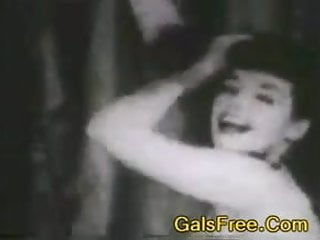 Free gay porn pages tank Betty page dances around vintage porn