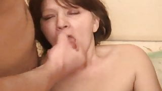 Mature woman and 2 guys