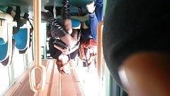 Tram black stocking