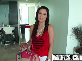Bikini surprise Mofos - latina sex tapes - tangerine titty sling surprise st